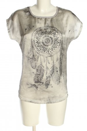 key largo girls Print-Shirt wollweiß-hellgrau meliert Casual-Look