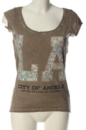 key largo girls Print-Shirt Schriftzug gedruckt Elegant