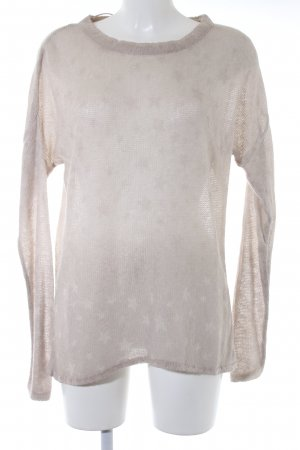 key largo girls Strickpullover creme meliert Glitzer-Optik
