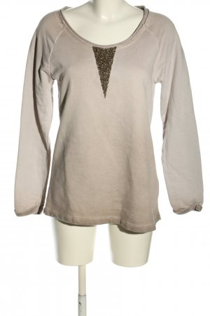 key largo girls Sweatshirt wollweiß-braun Farbverlauf Casual-Look