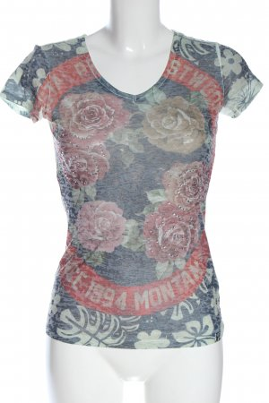 key largo girls T-Shirt Allover-Druck Casual-Look
