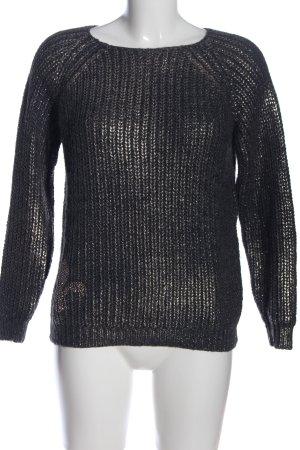 key largo girls Warkoczowy sweter niebieski W stylu casual