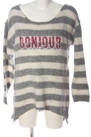 Key Largo Gehaakte trui gestreept patroon casual uitstraling