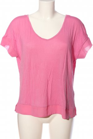 Key Largo Kurzarm-Bluse pink Casual-Look
