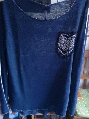 Key Largo Langarmshirt blau M