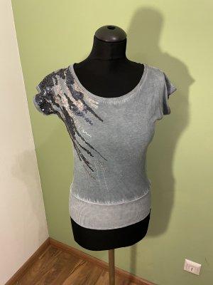 Key Largo Top batik gris-gris ardoise