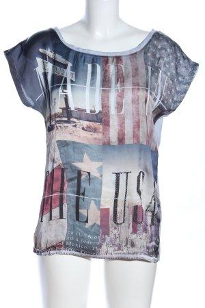 Key Largo Print-Shirt Motivdruck Casual-Look