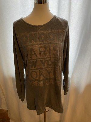 Key Largo * Pullover * Aufdruck * Gr XL * grau