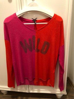 Key Largo Pullover WILD pink rot Gr. S