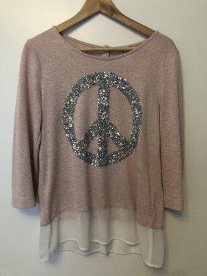 Key Largo Shirt rosa Peace