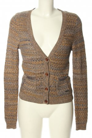 Key Largo Strick Cardigan grafisches Muster Casual-Look