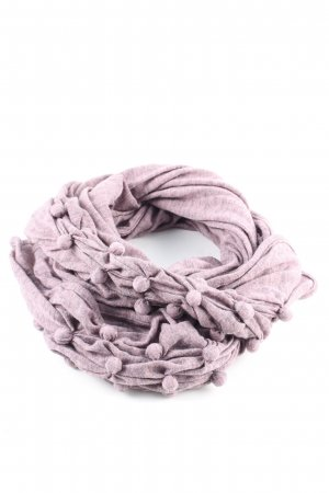 Key Largo Knitted Scarf pink flecked casual look