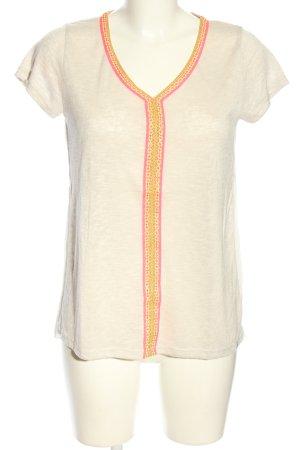 Key Largo T-Shirt wollweiß meliert Casual-Look