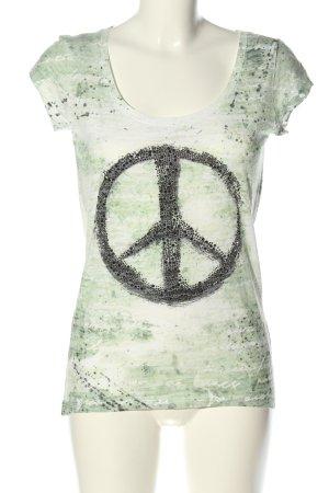 Key Largo T-Shirt meliert Casual-Look