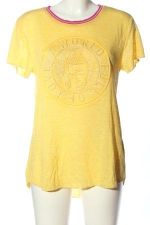 Key Largo T-Shirt Motivdruck Casual-Look