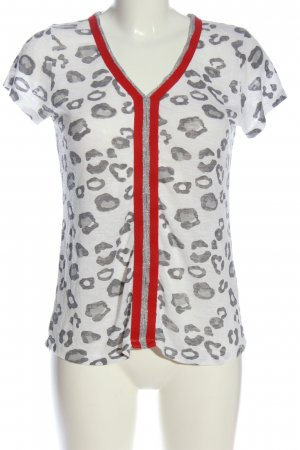 Key Largo T-Shirt Allover-Druck Casual-Look