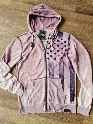 Key Largo Sweat Jacket purple-mauve
