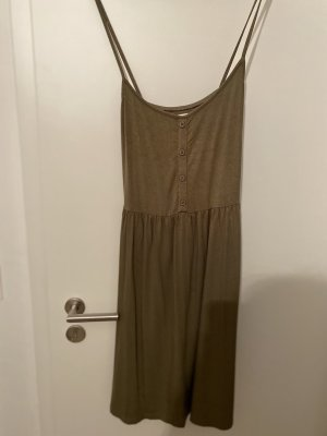 Khaki Basic Kleid