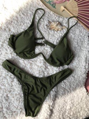 Bikini caqui