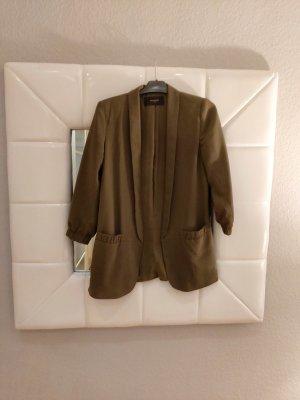Reserved Lange blazer groen-grijs Polyester