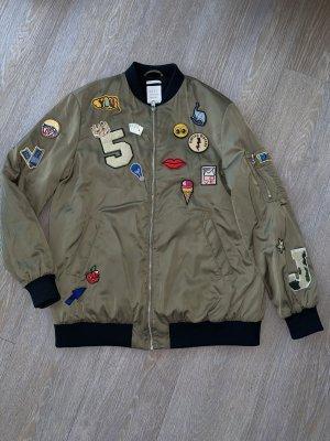 Khaki Bomberjacke Zara
