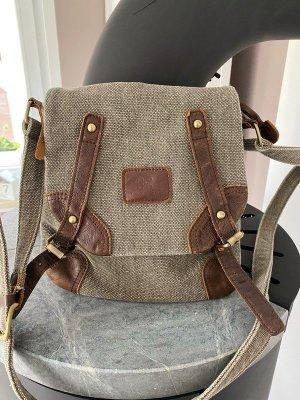 Khaki/braune Handtasche / Tasche / Umhängetasche