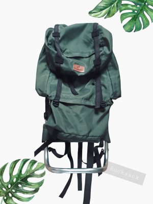 Vintage Trekking Backpack multicolored