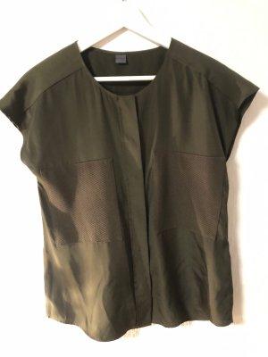 khaki farbene Bluse von s.Oliver