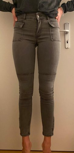 Abercrombie & Fitch Pantalon kaki kaki