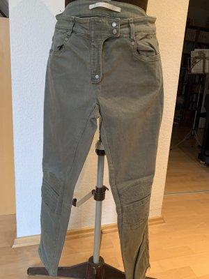 Khaki-farbene Jeans von Custommade