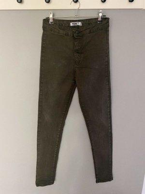 Khaki farbene Jeans von Portobello Punk, Gr. 36 / 8