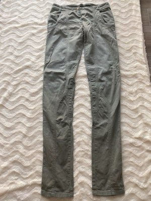 Khaki farbene Jeans von Stella McCartney, Gr. 40 long