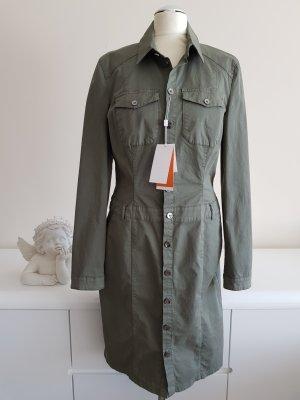 Khaki farbenes Safari Kleid von Boss Orange NEU NP 270€