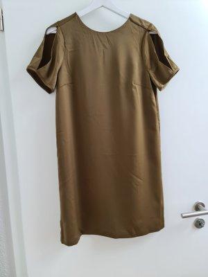 Khaki Hängerchenkleid mit Cutouts H&M Gr. M