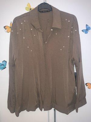 Khaki Hemd von Zara