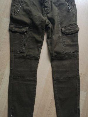 Khaki Jeans von Zara Gr. 42
