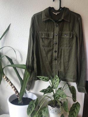 Khaki olive  Hemd Bluse