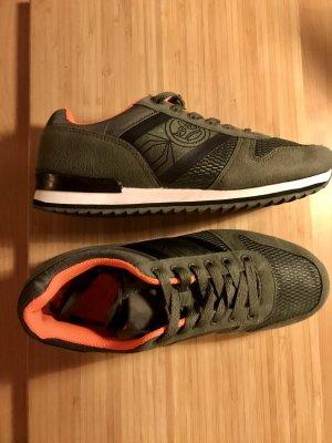 * Khaki/Orange Sneaker von CrossHatch Gr.36/38 Neuwertig *