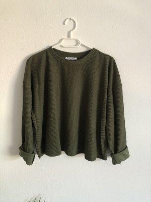 Khaki Pullover von Zara