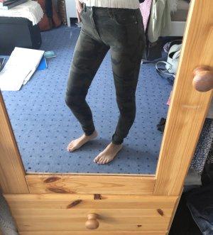 Bershka Tube jeans veelkleurig