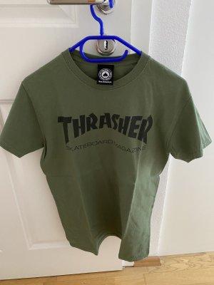 Khaki Thrasher Shirt