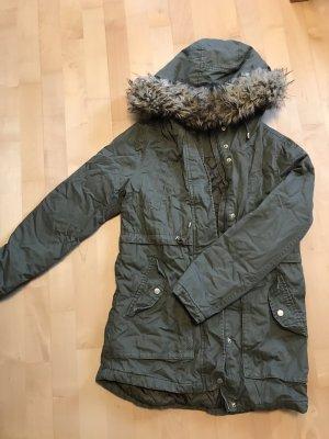 Ckh clockhouse Winter Jacket green grey-khaki