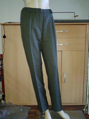 Khaki Wollhose Gr. 38, 80% Wolle NEU
