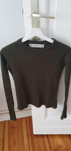 Khaki Zara Pullover