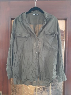 Khakifarbene Bluse