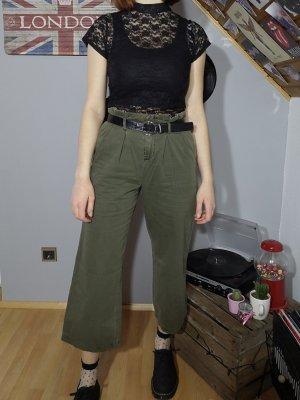 Vero Moda Pantalone culotte cachi