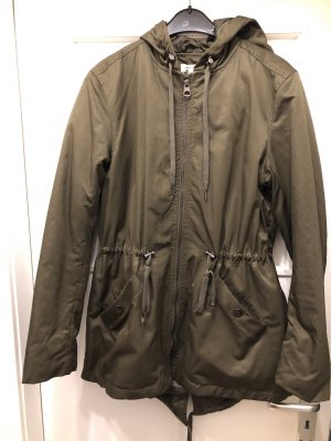H&M Parka green grey-khaki