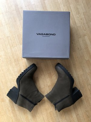 Vagabond Booties multicolored leather