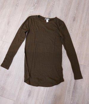 khakifarbener dünner Pullover
