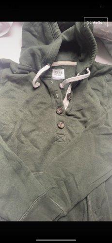 C&A Clockhouse Hooded Sweater khaki cotton